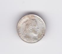 1 Gersh 1889 (ou 91) Argent Ethiopie Roi Ménélik  TTB à SUP - Ethiopia