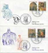 VATICANO - FDC  VENETIA 1992 - PIERO DELLA FRANCESCA - ARTE - VIAGGIATE PER MODENA - FDC