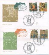 VATICANO - FDC  ALA 1992 - PIERO DELLA FRANCESCA - ARTE - FDC