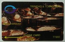 TRINIDAD & TOBAGO - GPT - 2CTTC - Pan In Harmony - Used - Trinidad & Tobago