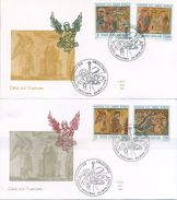 VATICANO - FDC  ALA 1992 - NATALE - ARTE - FDC