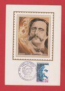 Carte Premier Jour  / Barbey D'Aurevilly / Saint Sauveur Le Vicomte   / 16 Novembre 1974 - Cartoline Maximum