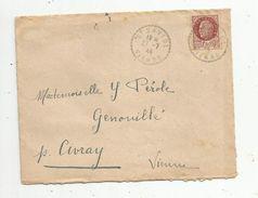 Lettre , SAINT SAVIOL , VIENNE ,1944 - Marcophilie (Lettres)