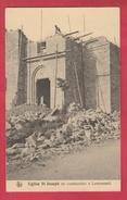 Lamorménil -Eglise St. Joseph En Construction - 193? ( Voir Verso, Spécial ) - Manhay