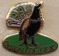OISEAUX DE GEX 1993 - AIN     -   (19) - Animaux