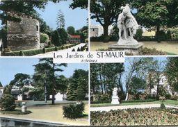 Saint Maur Des Fosses Tour Rabelais Square De L'abbaye Stade De La Mairie Square De La Convention 1967 - Saint Maur Des Fosses
