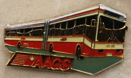 TRANSPORTS PUBLICS - BUS ROUGE - AAGS - SUISSE - SCHWEIZ  SWISS -    -   (19) - Trasporti