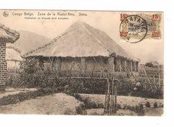 Belgisch Congo Belge CP Zone Ruzizi-Kivu Uvira C .Matadi V.Bruxelles PR4822 - Congo Belge