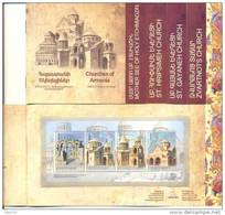 2009. Armenia, UNESCO, Churches Of Armenia, Booklet Of 12 Pages, Mint/** - Arménie