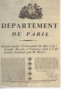 CP - DÉPARTEMENT DE PARIS - 11 - LES MURAILLES DE LA RÉVOLUTION FRANÇAISE - ABEILLE - LYNA - Historia