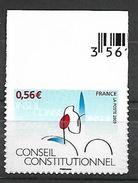 France . 2009 - Yv N° 337a ** - Cinquantenaire Du Conseil Constitutionnel - France