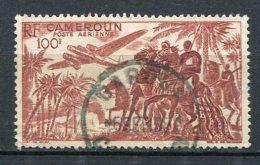 CAMEROUN - PA Yv. N° 39  (o)  100f  Divers  Cote  1,1 Euro S BE R - Cameroun (1915-1959)