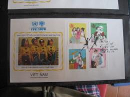FDC 1979 -  VIET NAM   : Internationales Jahr Des Kindes   -   1 - Francobolli