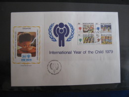 FDC 1979 -  SINGAPORE    : Internationales Jahr Des Kindes   -   1 - Francobolli