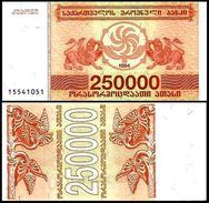 10 Pieces Georgia - 250000 Coupons 1994 UNC - Georgia