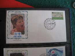 FDC 1979 - AUSTRALIA  : Internationales Jahr Des Kindes   -   1 - Francobolli