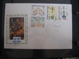 FDC 1979 - NEW HEBRIDES CONDOMINIUM  : Internationales Jahr Des Kindes   -   1 - Francobolli