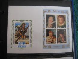 FDC 1979 -  NIUE   : Internationales Jahr Des Kindes   -   1 - Francobolli