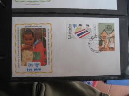 FDC 1979 -  THAILAND     : Internationales Jahr Des Kindes   -   1 - Francobolli