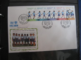 FDC 1979 -  CHRISTMAS ISLAND   : Internationales Jahr Des Kindes   -   1 - Francobolli