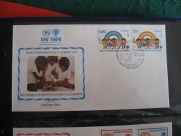 FDC 1979 -  NATIONS UNIES   : Internationales Jahr Des Kindes   -   1 - Francobolli