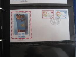 FDC 1979 -  UNITED NATIONS   : Internationales Jahr Des Kindes   -   1 - Francobolli