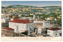 CPA - Palestine - NAZARETH - Vue Du Casa Nova - Eglise De L'Annonciation... - Palestine