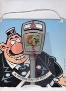EDITIONS DUPUIS 1998- CAUVIN-HORODATEUR GENDARME GENDARMERIE POLICE-2 CV-DEUDEUCHE - Supplies And Equipment
