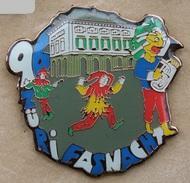 CARNAVAL VILLE DE ZURICH - SUISSE - ZURI FASNACHT 96 - SCHWEIZ - SWISS -   (19) - Badges