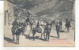 348. Le Pic Du Midi De Bogorre, Caravane De Touristes Quittant L'hotellerie - Autres Communes