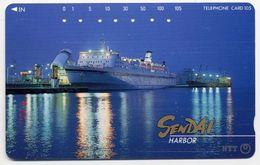 Bateau Boat Paquebot SENDAI HARBOR Télécarte Telefonkarten Phonecard (D.122) - Bateaux