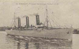 """BORDEAUX - Compagnie Sud Atlantique, """"Burdigala"""". - Paquebots"""