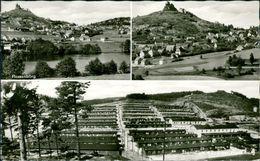 AK Flossenbürg, Mehrbildkarte Mit Ehem. KZ-Lager, Um 1960 (24762) - Allemagne