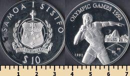 Samoa 10 Tala 1991 - Samoa