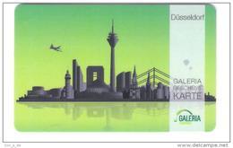 Germany - Carte Cadeau - Gift Card - Geschenkkarte - Galeria Kaufhof - Düsseldorf - Fernsehturm - Funkturm - Gift Cards
