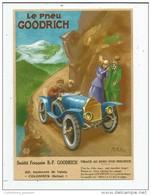 Cp , Collection LES ANCÊTRES DE L'AUTOMOBILE , Vierge  , LE PNEU GOODRICH - Cartes Postales