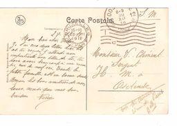 CP REnaix Château De M.De Malander C.méc BXL 28/12/18 V.Ostende C.d'arrivée Fortune Agence Oostende 12 3012/18 PR4831 - Fortune Cancels (1919)
