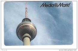 Germany - Allemagne - Media Markt - Carte Cadeau - Carta Regalo - Gift Card - Geschenkkarte - Berlin - Fernsehturn - Gift Cards