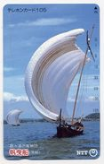 VOILIER Bateau Boat Télécarte Telefonkarten Phonecard (D.125) - Bateaux