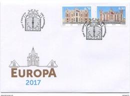 1706 - Luxemburg Europa CEPT 2017 FDC, Zurückgezogene Ausgabe!!! - FDC