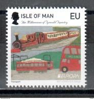 Insel Man / Isle Of Man / Ile De Man 2015 EUROPA (large Queens Head From Sheet Of 10) ** - 2015