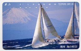 VOILIER Bateau Boat Télécarte Telefonkarten Phonecard (D.126) - Bateaux