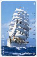 VOILIER Bateau Boat Télécarte Telefonkarten Phonecard (D.127) - Bateaux