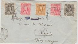 Yu-MTN010 / Montenegro 1910, Fürst Nicola Nach Paris Mit Ankunftstempel 25.3.1910 - Montenegro