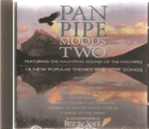 """CD     Pan  Pipe  """"  Moods  Two  """"     De  1995   Avec  18  Titres - Sin Clasificación"""