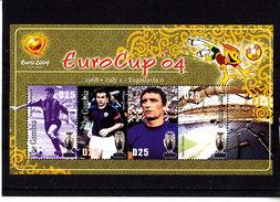 Soccer European Cup 2004 - Football - GAMBIA - Sheet MNH ** - Europei Di Calcio (UEFA)