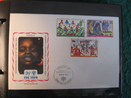 FDC 1979 -  AUNGUILLA    : Internationales Jahr Des Kindes   -   1 - Francobolli