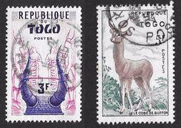 Timbres Du Togo ( République Autonome ) De 1957   '   Yvert  N° 265 & 267  ' - Togo (1960-...)