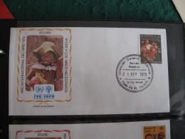 FDC 1979 -  BOLIVIA  : Internationales Jahr Des Kindes   -   1 - Francobolli