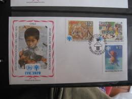 FDC 1979 -  CHILE  : Internationales Jahr Des Kindes   -   1 - Francobolli